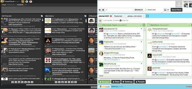 Hootsuite Versus TweetDeck
