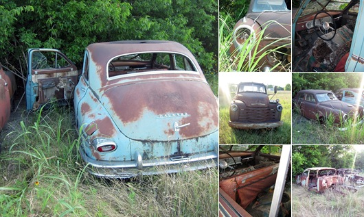 30+ Images of Old and Rusty Cars