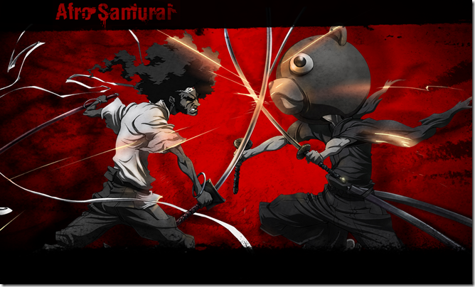 21 Killer Examples of Afro Samurai Fan Art