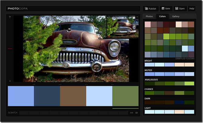 PHOTOCOPA-Photo Color Palettesby COLOUR lovers