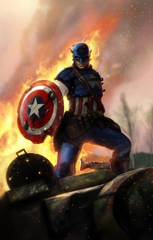 11 Killer Examples of Captain America FanArt