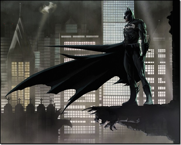 batman digital illustrations