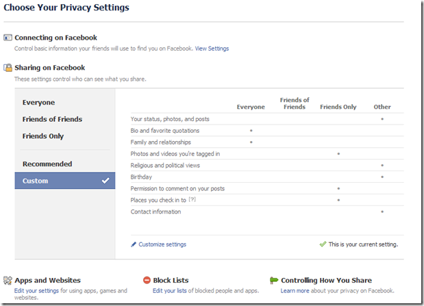facebookprivacysettings thumb An Easy Guide to Setting Up Your Privacy Settings on Facebook