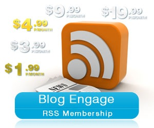 Blog Engage Offers Premium RSS Syndication