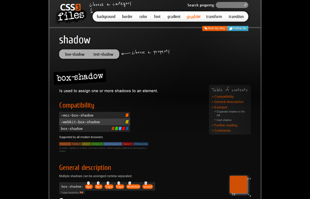 CSS3 Properties Exposed!