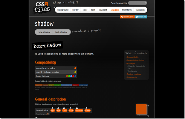 css3files - CSS3 Properties Exposed: Place to find the lastest news and tutorials for CSS3