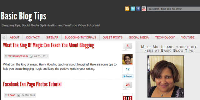 Basic Blog Tips: A Place to Find Blogging Tips and Resources
