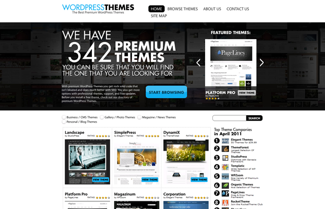 300+ Premium WordPress Themes To Choose From!