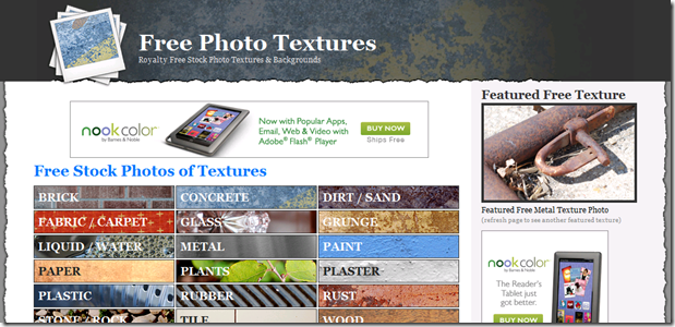 Best places to find textures