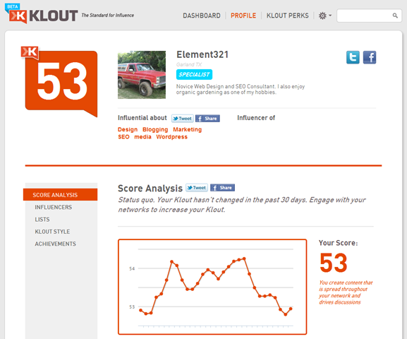 The New Klout – Preview