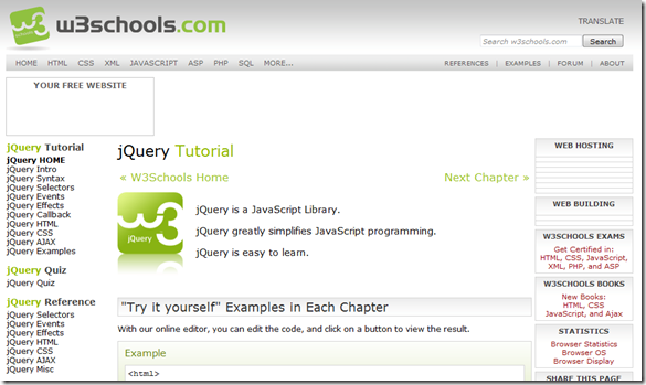 jQuery Resources