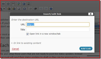 How to open wordpress links in a new window or tab