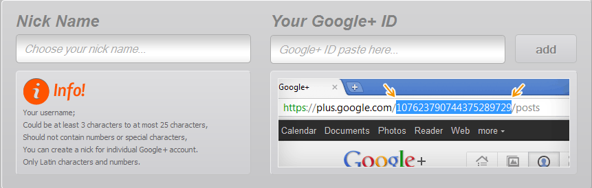 Get an Easy to Remember Google Plus Network Profile URL