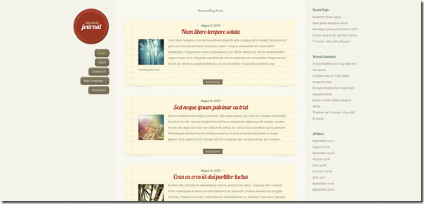 DailyJournal by Elegant Themes