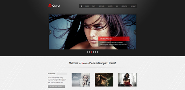 5 New Portfolio Themes from ThemeForest