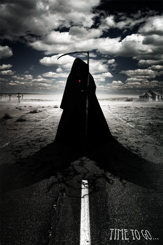 How to Create a Grim Reaper Scene Artwork in Photoshop