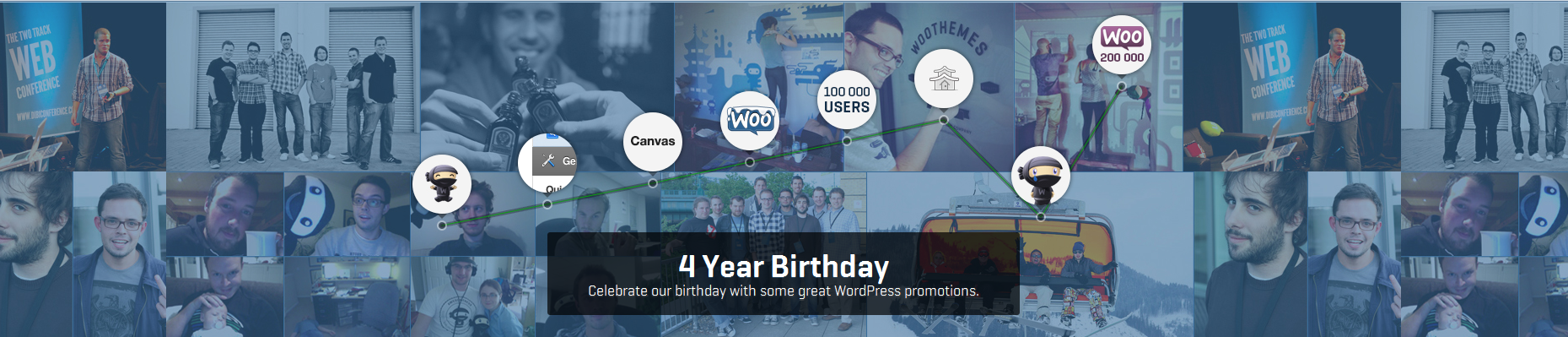 Woo Themes Celebrates 4 Years of Success!