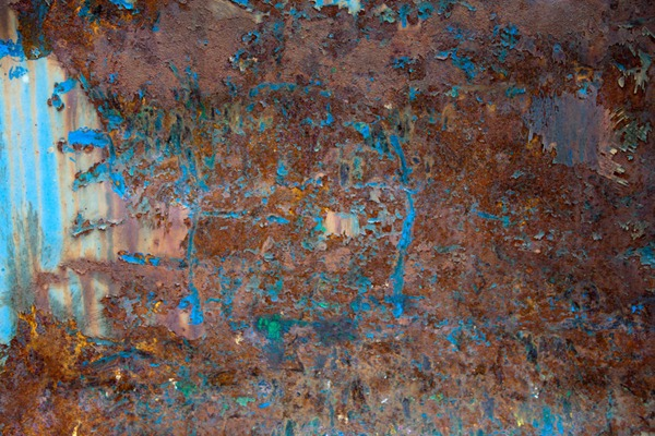 5 Rusty and Peeling Painted Metal Textures