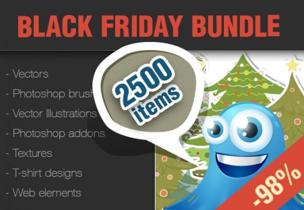 Inky Black Friday - Design Resource Bundle!