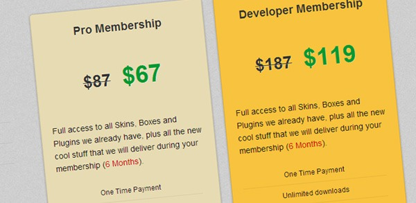 Get Thesis Skins, Boxes, and Plugins from ThesisAwesome at Crazy Low Prices