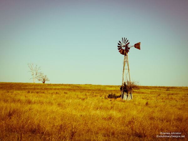 Abandoned Windmill near Ferris Texas