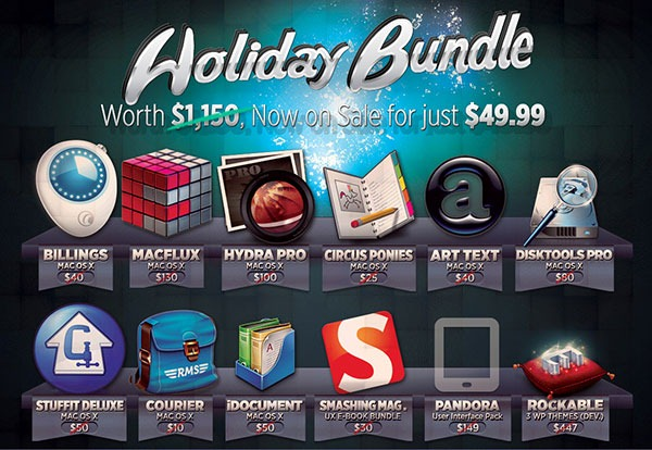 Mega Holiday Collection of Premium Mac Apps and Design Resources