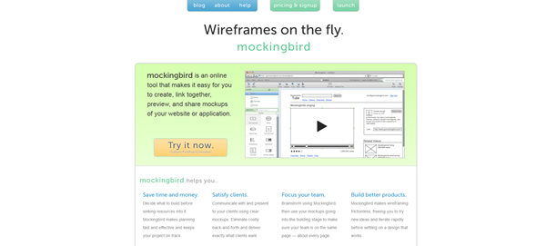 Free and Premium Wireframe and Mockup Applications