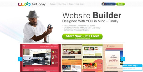 Design Your Own Professional Website with 5 Easy Web Builder Sites!