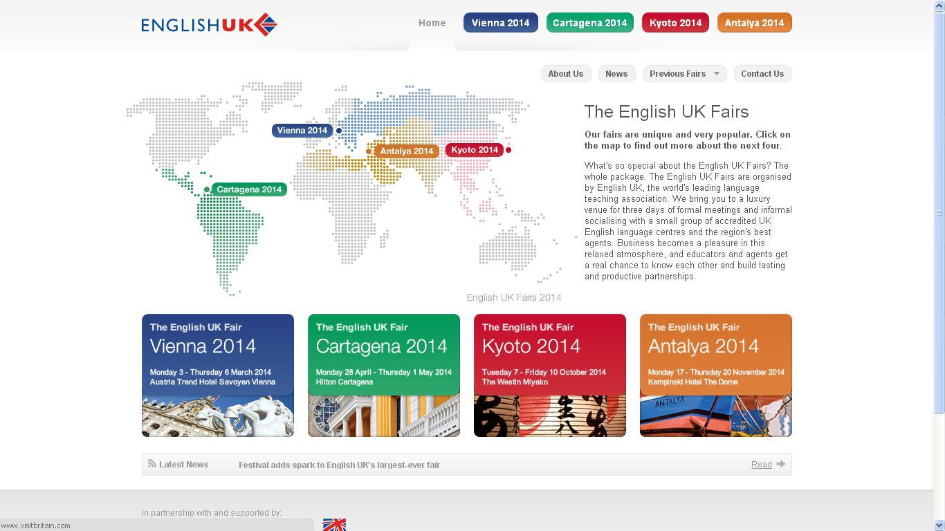 The English UK Fairs
