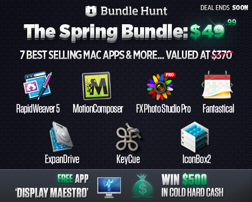 BundleHunt Productivity Mac OS X Applications Bundle worth over $363 for $49.99