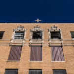 old abandoned Nazareth Hospital in Mineral Wells, Texas