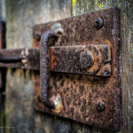 Locks on the Carriage Doors -  The Longwood Plantation in Natchez, MS