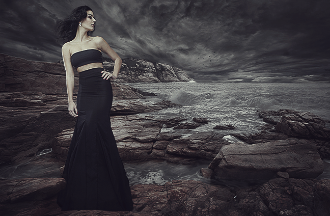 How to Add a Mermaid to a Dark Bleak Landscape