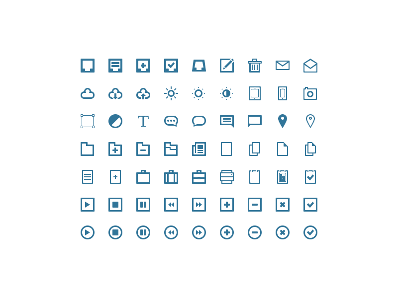 Exclusive Free Vector Icon Set for Evolutionary Designs Readers!