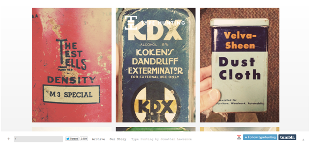 Type Hunting - What are your 'Go-To' Sources for Web Design Inspiration?