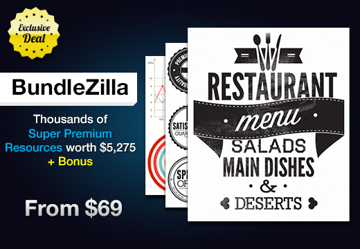 BundleZilla: Thousands of Super Premium Resources worth $5,275 – From $69