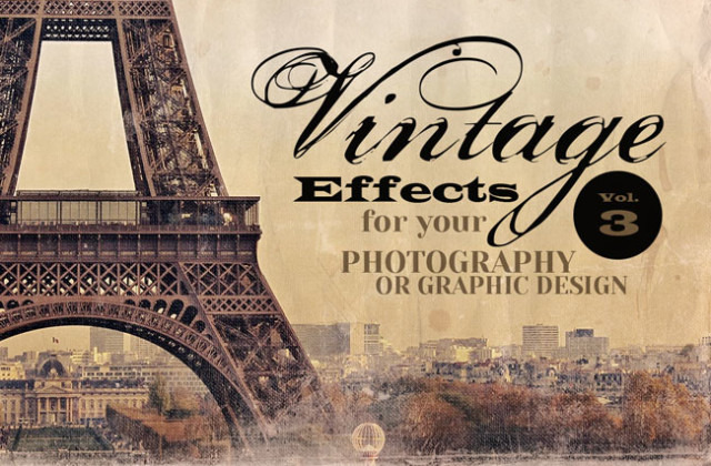 THE Retro/Vintage Design Bundle (200+ Elements) – only $22!