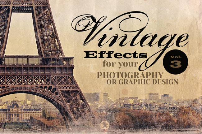 THE Retro/Vintage Design Bundle (200+ Elements) - only $22!