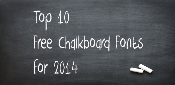 free chalkboard fonts to download
