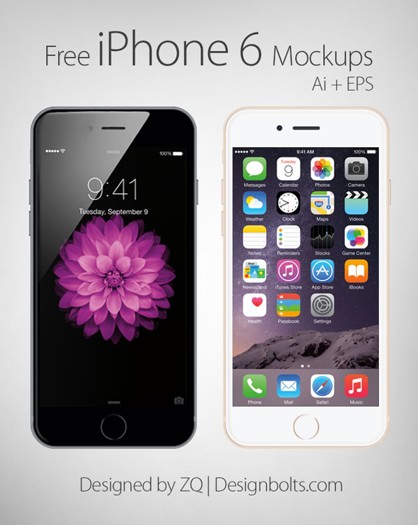 The 5 Best Free iPhone 6 Vector Mockups