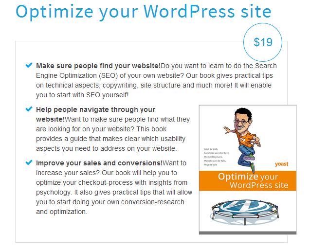 Yoast ebook: Optimize your WordPress site - Evolutionary Designs