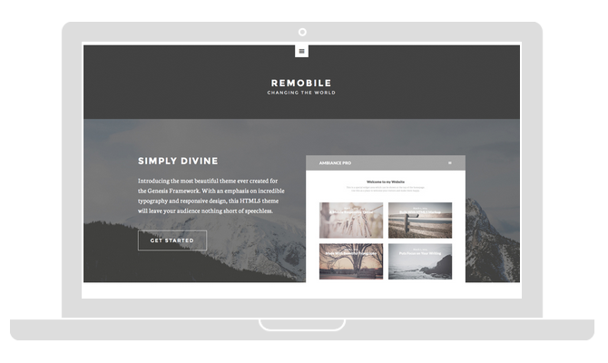 Remobile Pro Theme by StudioPress
