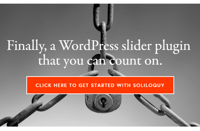 Soliloquy Responsive WordPress Slider Plugin – 35% OFF Black Friday Offer – Best Deal of the Year
