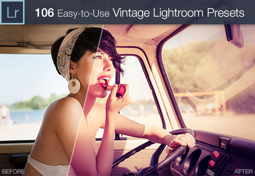 Vintage Lightroom Presets Collection: 106 Elegant Presets from 4 Sets – Only $15