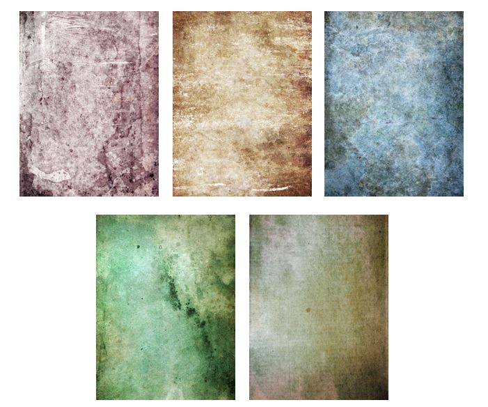 Free download: 5 High-Res Colored Grunge Textures