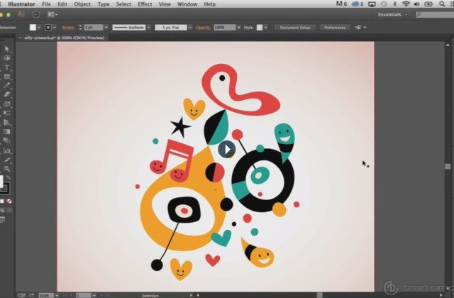 Adobe Illustrator Beginner Tutorials: How to Use the Adobe Illustrator Shape Tools