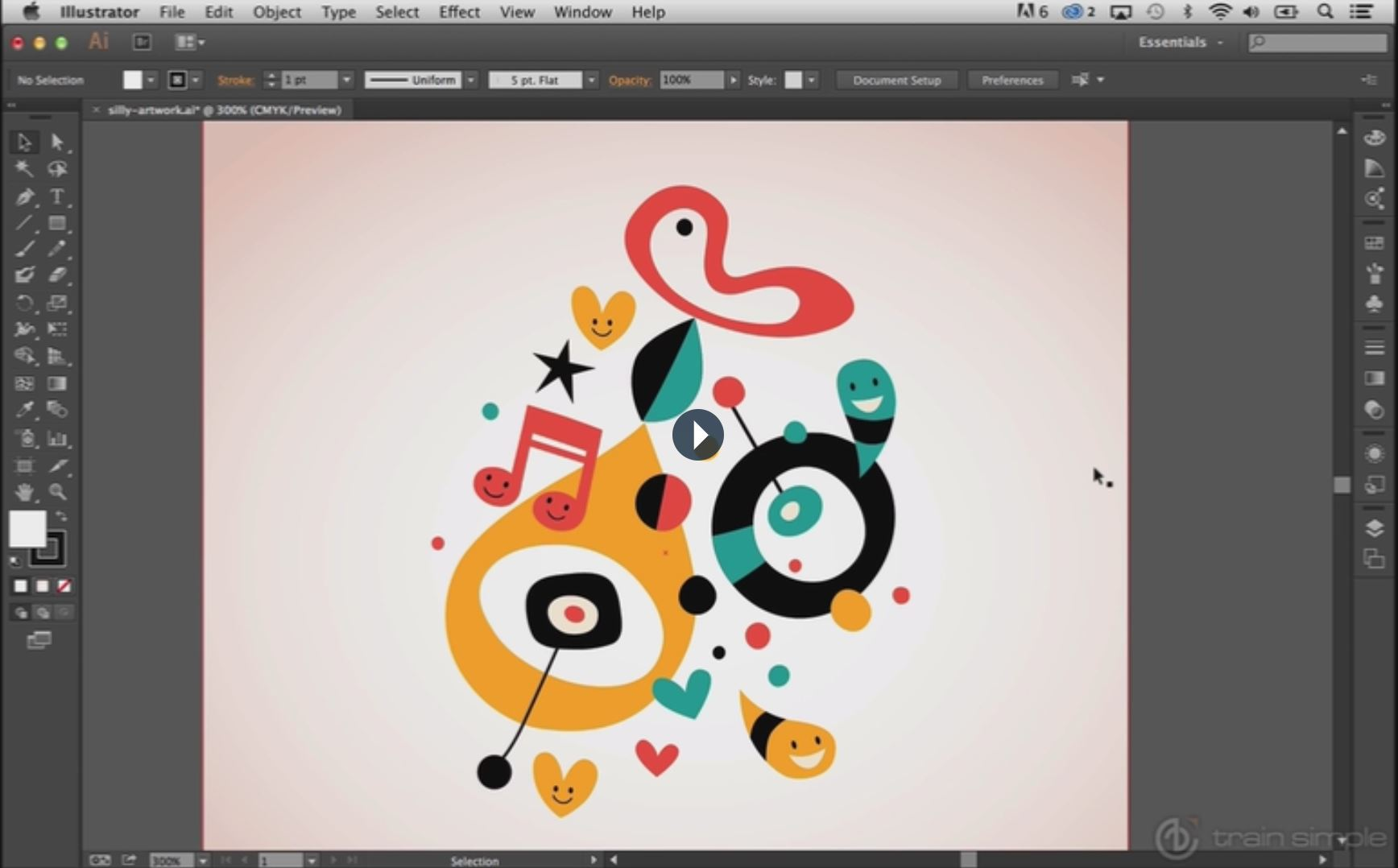 how to use the adobe illustrator shape tools | evolutionary designs