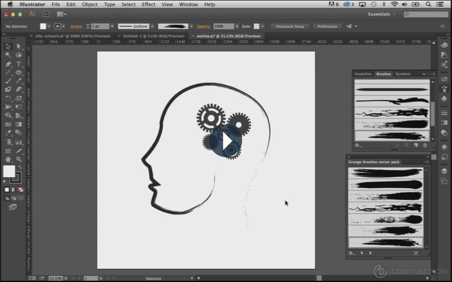 Adobe Illustrator Beginner Tutorials: How to Use the Adobe