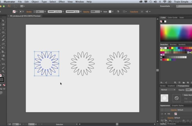 Adobe Illustrator Beginner Tutorials: How to Apply Colors in Adobe Illustrator