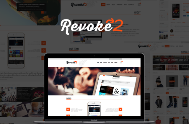 Revoke – Multipurpose WordPress Theme – Gets an Update by TeslaThemes